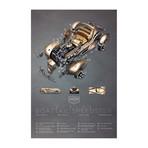 """Auburn Boattail Speedster (11""""W x 17""""H)"""