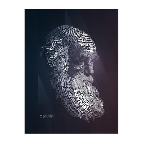 """Darwin (11""""W x 17""""H)"""