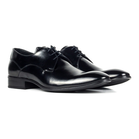 Plain Toe Derby // Black