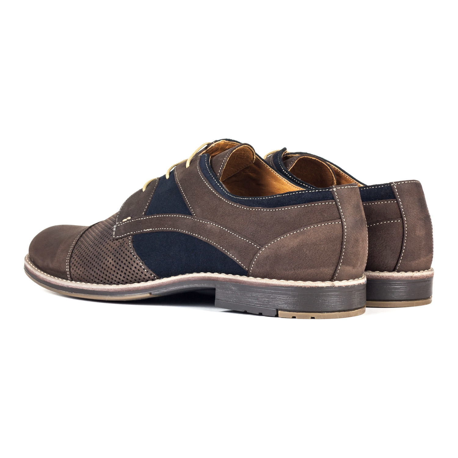 Shoe Designs Men Captoe Derby