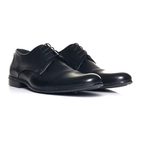 Plain Captoe Derby // Black