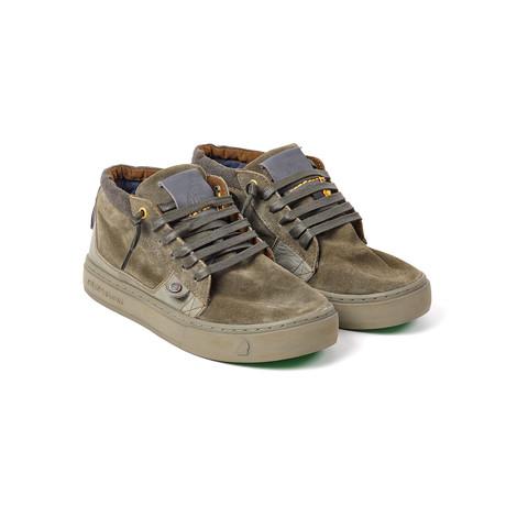 Moonwalker Sneaker // Deep Khaki