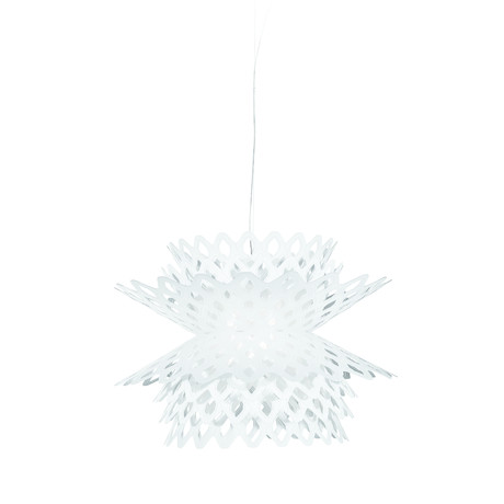 Desert Rose // Suspension Lamp (White)
