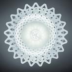 Desert Rose // Suspension Lamp (White)