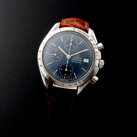 Omega Speedmaster Date Automatic // 35138 // c. 1990s // Pre-Owned