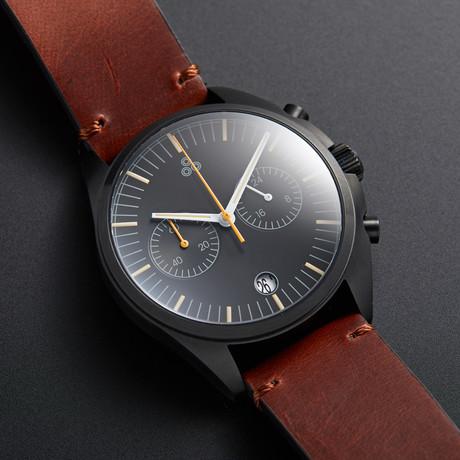 Bespoke Watch Projects 72 Flyback Chronograph Hybrid Mecha-Quartz // Nero Edition // 72FLPV-BL