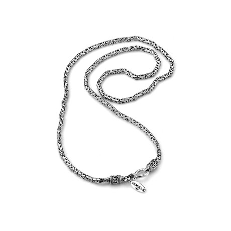 "Bali Byzantine Chain // Silver (20"")"