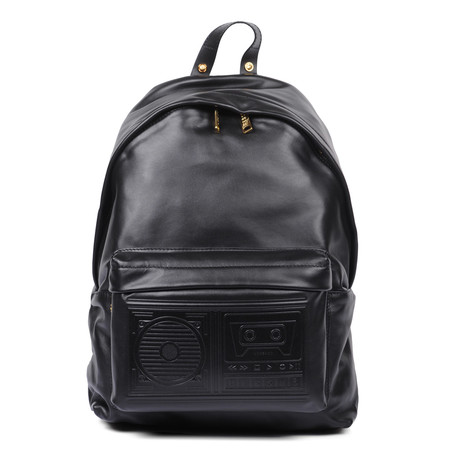 Leather Backpack // Black