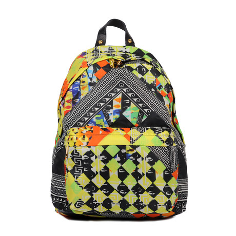 Printed Backpack // Multi