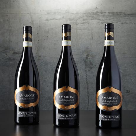 96-Point Monte Zovo Amarone della Valpolicella // 3 Bottles