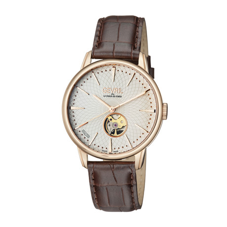 Gevril Mulberry Swiss Automatic // 9602