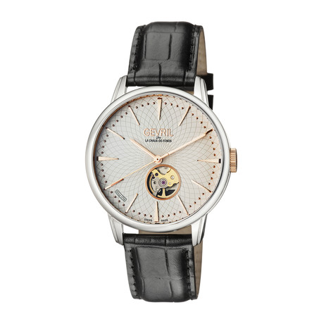 Gevril Mulberry Swiss Automatic // 9601