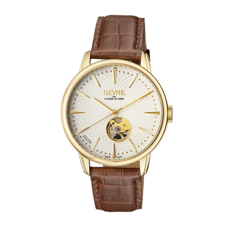 Gevril Mulberry Swiss Automatic // 9603