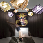 Gemmy Prisma // Suspension Lamp (Amethyst)