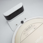 Hovo 750 Robotic Vacuum Cleaner // Gold + White