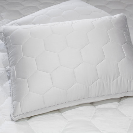 ECOSHEEX Down Alternative Pillow (Standard // Stomach/Back)