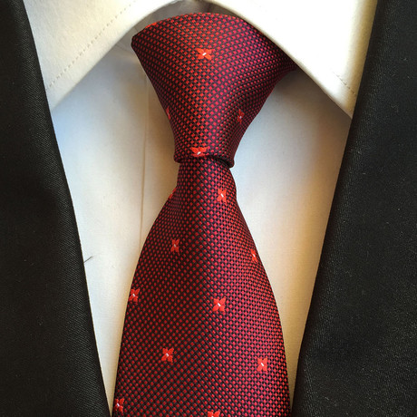 Handmade Tie // Red Star