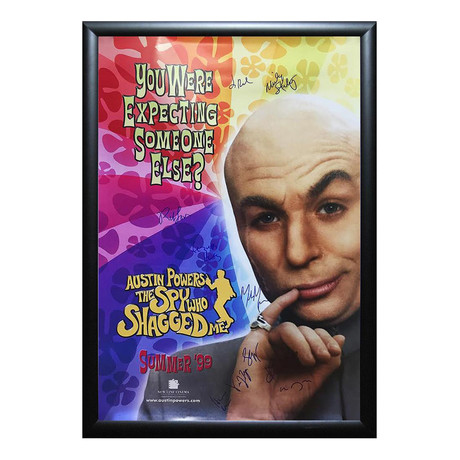 Signed Movie Poster // Austin Powers: The Spy Who Shagged Me I