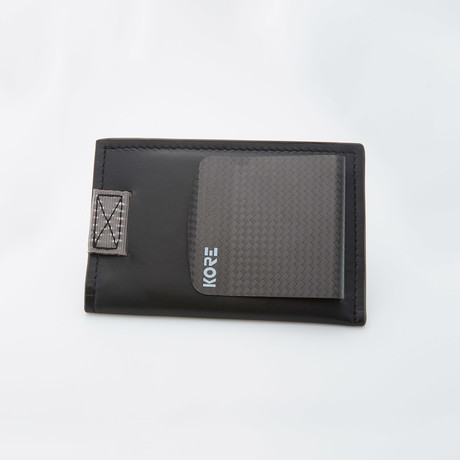 Slim Wallet + Carbon Fiber Money Clip