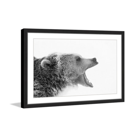 Call of the Wild // Framed Painting Print