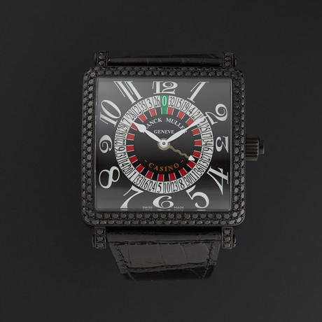 Franck Muller Master Square Casino Automatic // 6050KCSND // Unworn