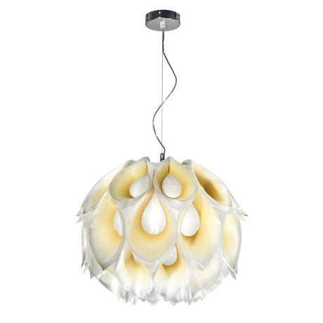 Flora // Suspension Lamp // Medium (Purple)