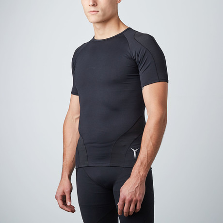 Short-Sleeve Compression Top