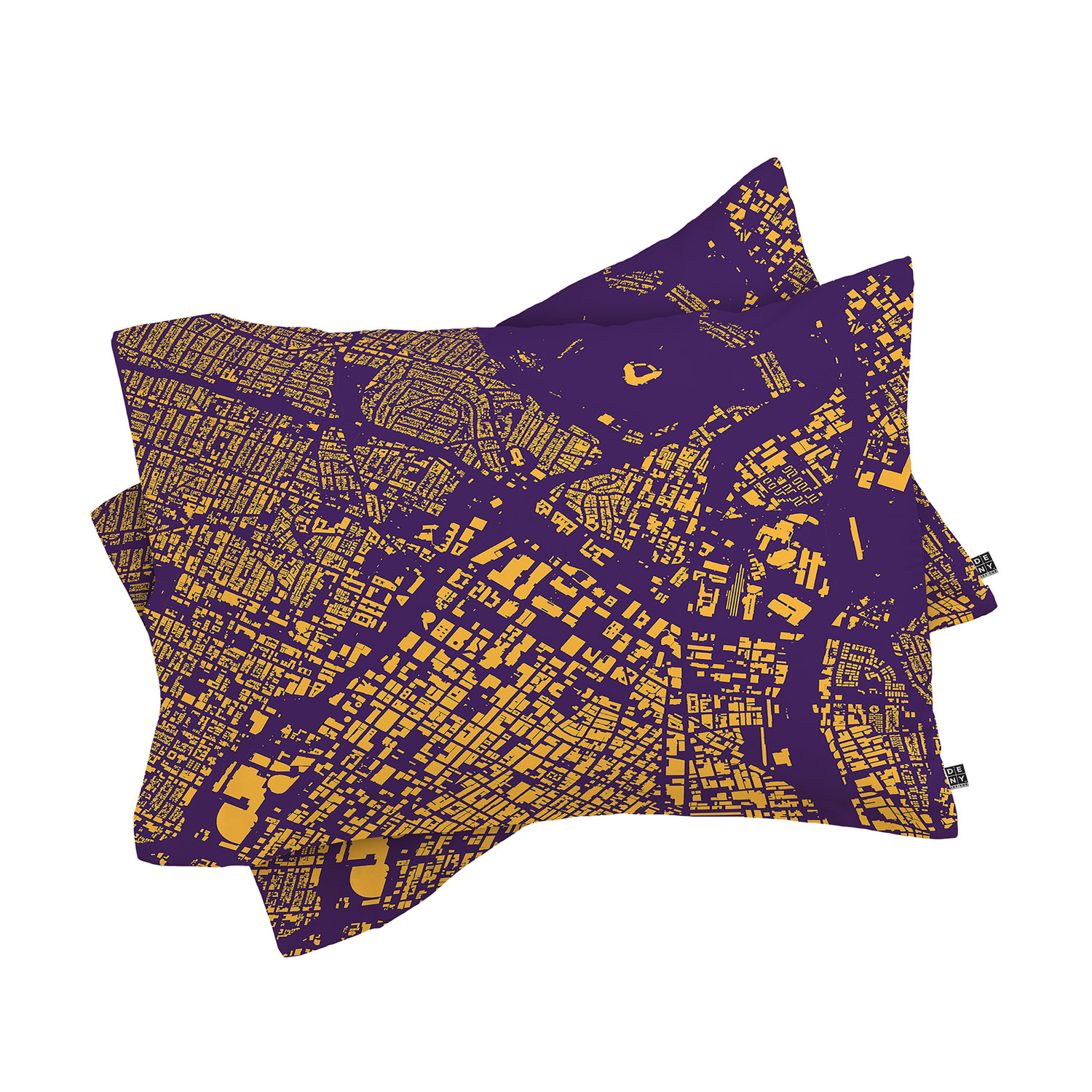Modern Pillow Case Designs : LA // Pillow Case // Purple // Set of 2 - CityFabric Inc. For DENY Designs - Touch of Modern