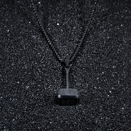 Thor Necklace // Matte Black