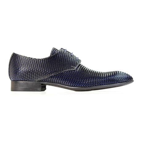 Blue Widow Dress Shoes // Back + Cobalt Blue (Euro: 39)