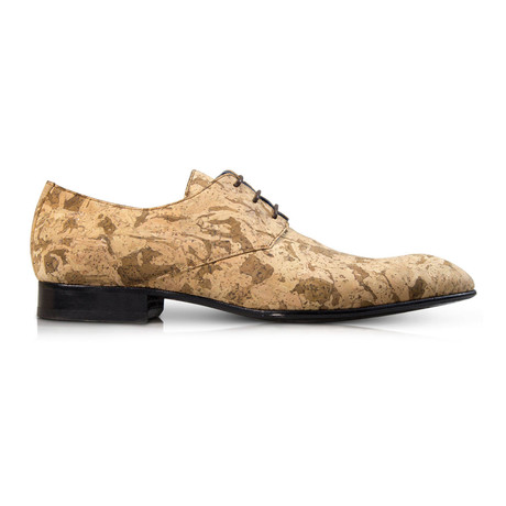 Cork Landscape Dress Shoes // Natural Brown (Euro: 39)