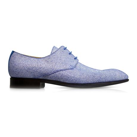 Criss Cross Dress Shoes // Blue + White (Euro: 39)