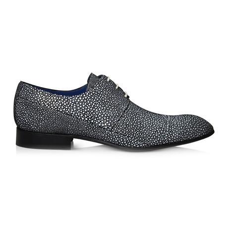 White Noise Dress Shoes // Black + White (Euro: 39)