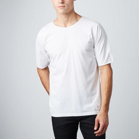 Oversized Doleman Tee // White (S)