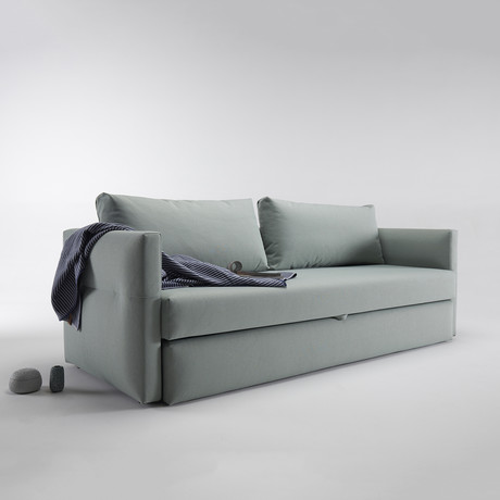 Toke Sofa // Black Legs (Coastal Seal Grey)