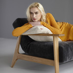 Buri Frej Sofa // Lacquered Oak