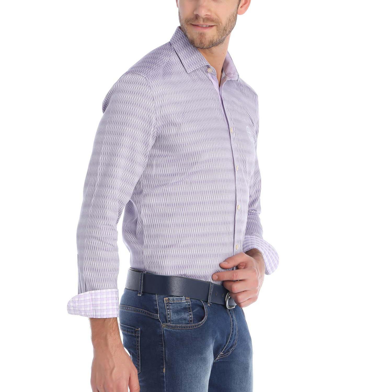 Rutter dress shirt purple s sir raymond tailor for Tailor dress shirt cost