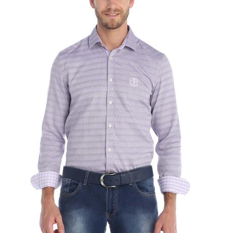 Rutter Dress Shirt // Purple (S)