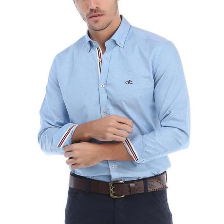 Artisan Dress Shirt // Blue (S)
