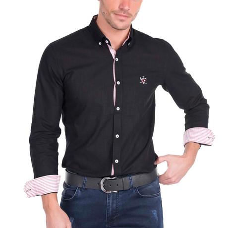 Couch Linen Shirt // Black (S)