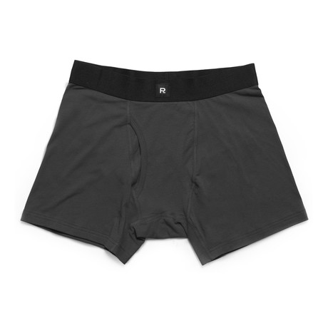 Smith Boxer-Brief // Charcoal