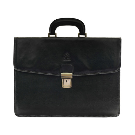 Sound Of The Mountain Briefcase // Black