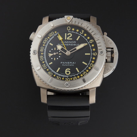 Panerai Luminor Submersible Depth Gauge Automatic // PAM00193 // Pre-Owned