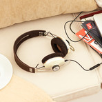 HD1 Over Ear Headphones 2 // Ivory