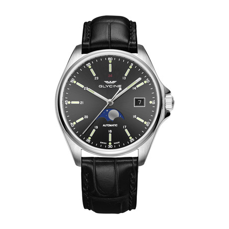 Glycine Combat Classic Moonphase Automatic // GL0116