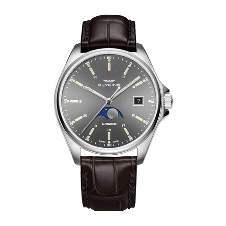 Glycine Combat Classic Moonphase Automatic // GL0114