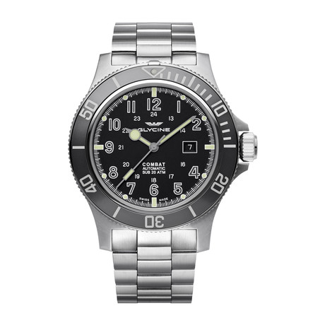 Glycine Combat Sub Automatic // 3951.191AT.GD1.MB