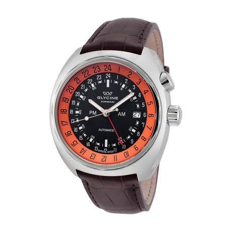 Glycine Airman SST 12 GMT Automatic // 3903.196.LBK7F
