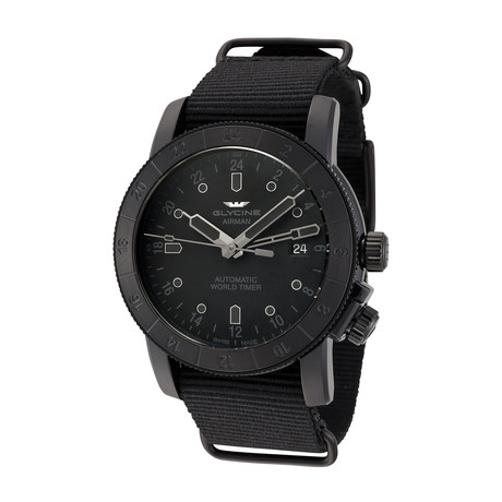 Glycine Airman 42 GMT Automatic // 3954.999.TB99