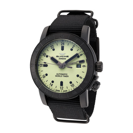 Glycine Airman 42 GMT Automatic // 3954.959SL.TB99